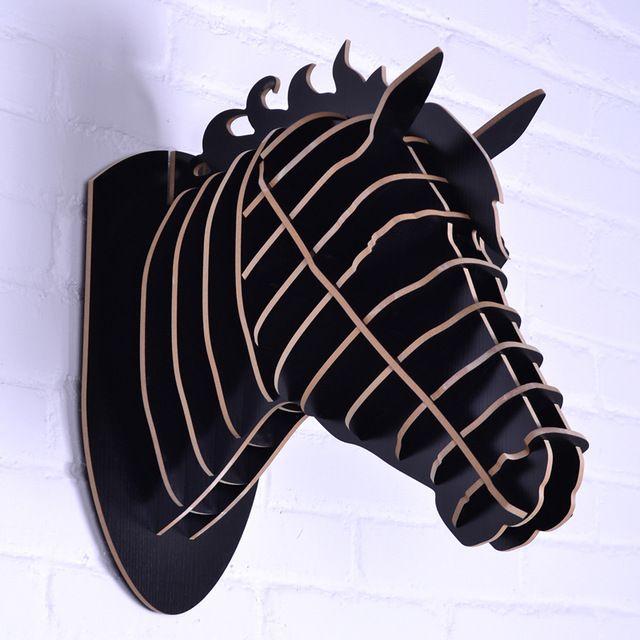 NODIC cavalo escultura, cabeça de Cavalo para a decoração da parede, decoração, artesanato em madeira, artigos da novidade, animais parede cabeça, cavalo de madeira artesanato