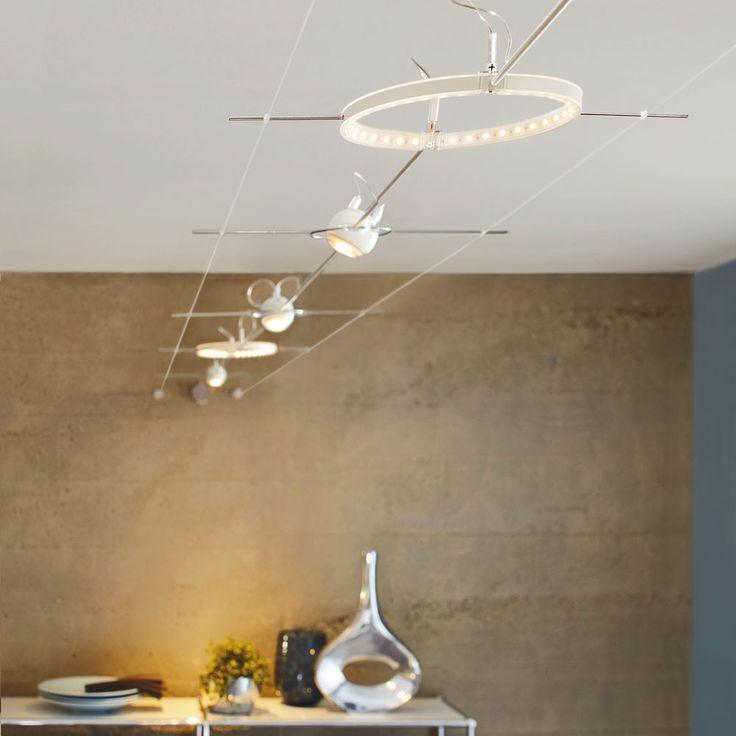SKAPETZE -    LED-Seilsystem / Komplettset BASIS / außergewöhnliches Design Innenleuchten Deckenleuchten