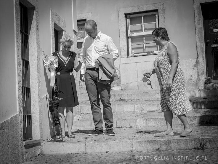Ślub w Lizbonie - Malwina i Marcin  Love Story w Lizbonie, czyli sesja zdjęciowa na Alfamie oraz w Ambasadzie RP w Lizbonie.   Więcej zdjęć, pomysłów, inspiracji na: www.portugalia-inspiruje.pl oraz http://infolizbona.pl/fotograf-i-slub-w-portugalii/  #ślub #wedding #portugalia #lizbona #lisbon #foto