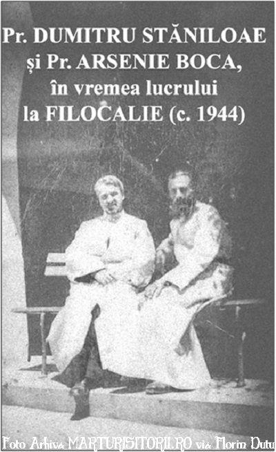 Pr Dumitru Staniloae cu Pr Arsenie Boca - Marturisitorii - Florin Dutu