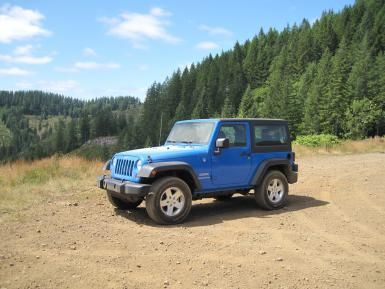 An Overview of the Jeep SUV and Crossover Family: 2012 Jeep Wrangler -- the iconic Jeep.
