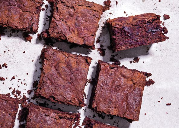 Believe it or not, beetroot is a delicious addition to these chocolate brownies, adding a depth of flavour and a squidgy texture