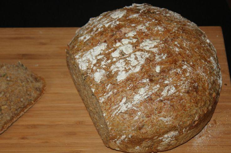 - Eltefritt Valnøttbrød med Gulrot -  noKnead Carrot-Walnut Bread, semi-whole grain