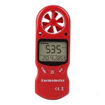 อย่าช้า  มาตรวัดความเร็วลมเครื่องวัดอุณหภูมิความชื้นลมความเร็วลมเย็นยะเยือกจับตัวสีแดง  ราคาเพียง  508 บาท  เท่านั้น คุณสมบัติ มีดังนี้ This advance technology Digital Anemometer is perfect foroutdoor enthusiasts. Take accurate weather measurements withinseconds. Perfect for hang gliding, kite surfing, kite flying,sailing, surfing, paragliding and shooting. It& is a comprehensive handheld wind meter with windspeed, temperature, humidity, wind gust, and Beaufort Scale, all inone compact…