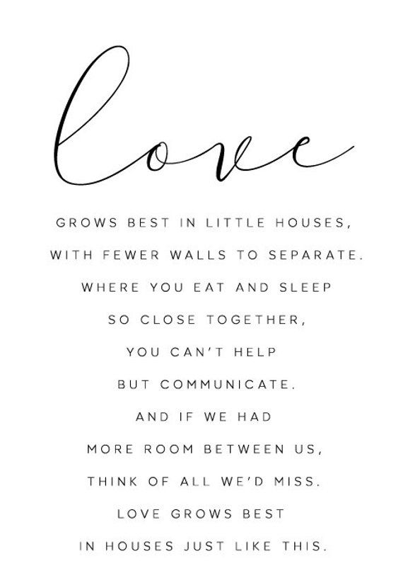 Love Grows Best In Little Houses Family Sign Living Room Etsy Quotes About Motherhood Mom Quotes Sweet Family Quotes