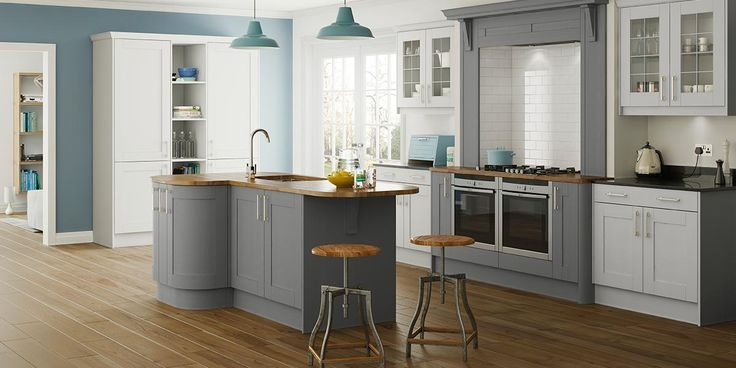 Saltaire Painted Shaker Kitchen - Sigma 3