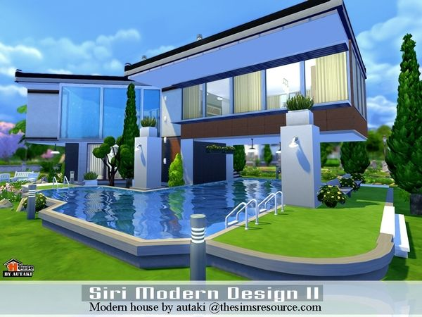 sims 4 modern house google search sims 4 builds pinterest modern houses sims 4 and house floor plans - Sims 4 Home Design