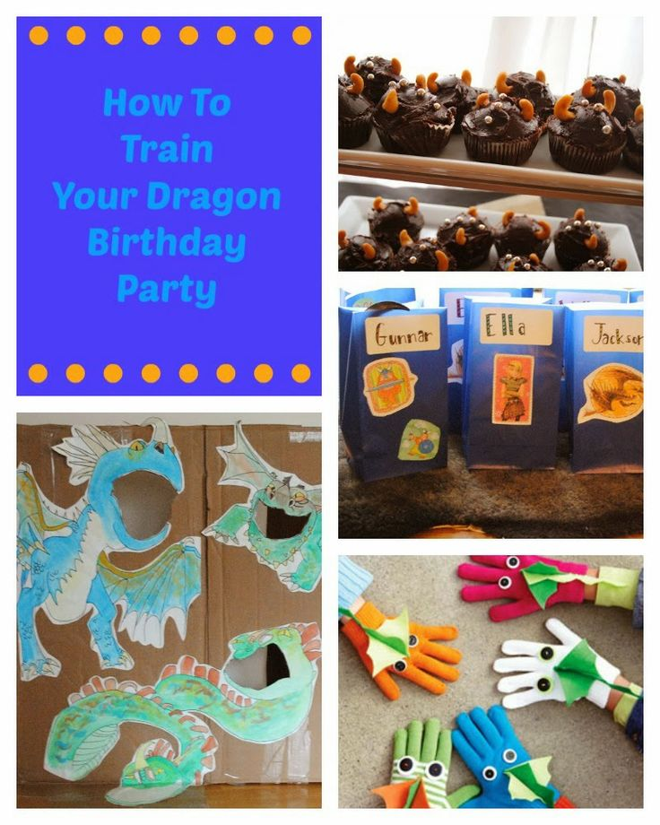 how to train your dragon birthday party hats