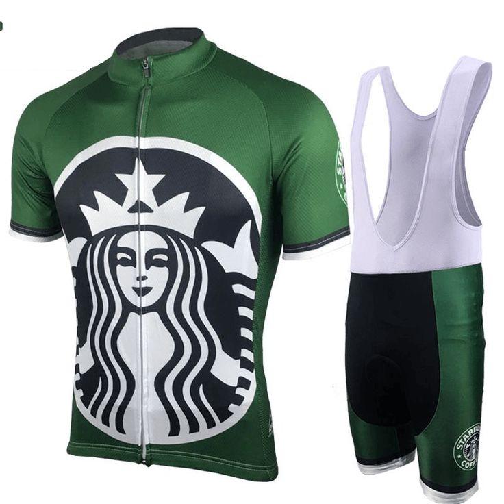 Green Starbucks Coffee Cycling Kit