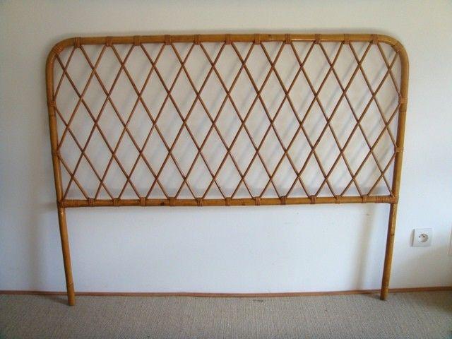 Tête de lit rotin vintage  Chambre  Pinterest  Vintage