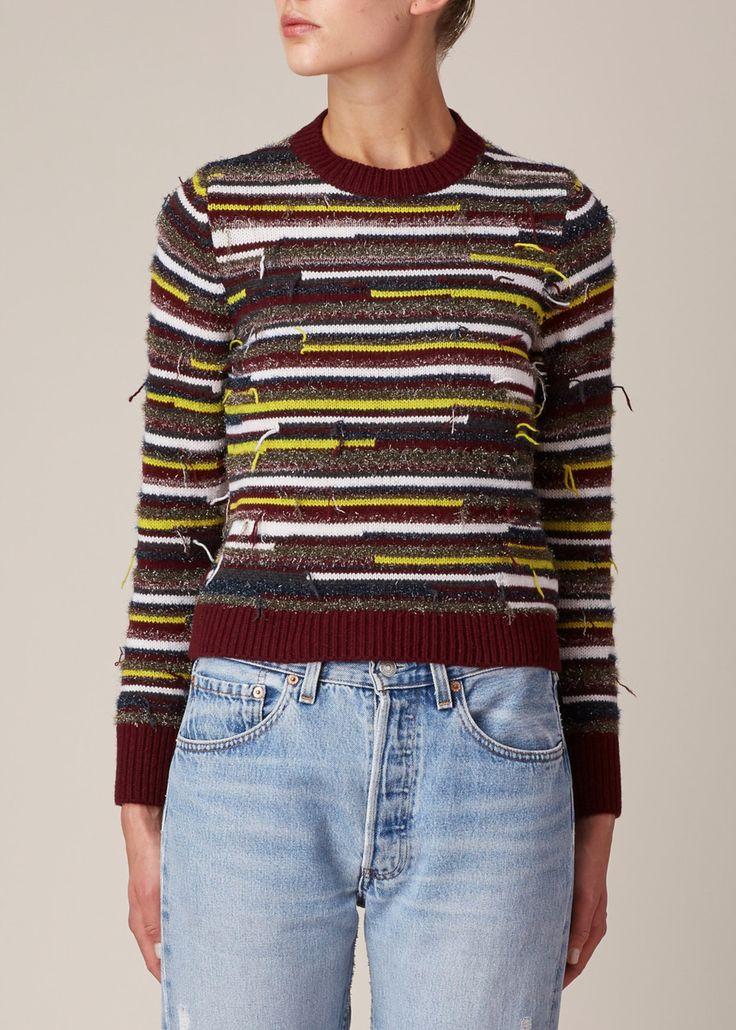 Maison Margiela Striped Sweater (Multicolor)
