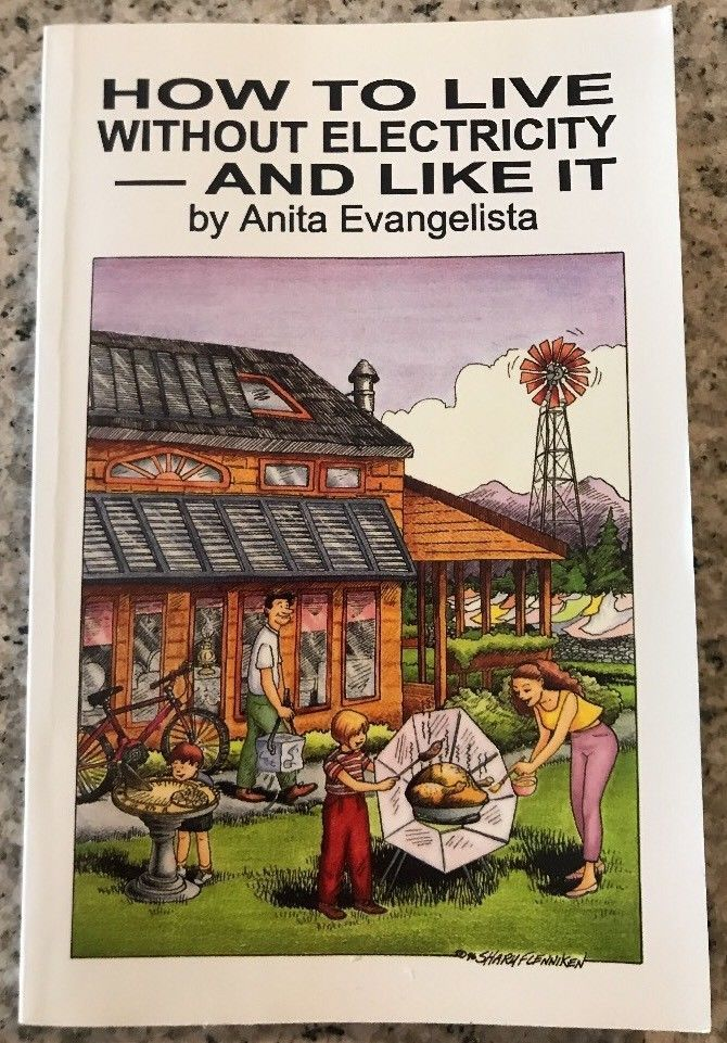 How to Live Without Electricity And Like It Book PB Anita