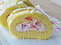 Pasta per rotolo farcito ricetta base dolce una base soffice e versatile , da farcire con creme,nutella ,marmellata,frutta fresca e secca!