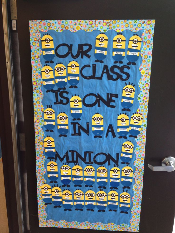 Minion Classroom Decor ~ Best ideas about minion classroom door on pinterest
