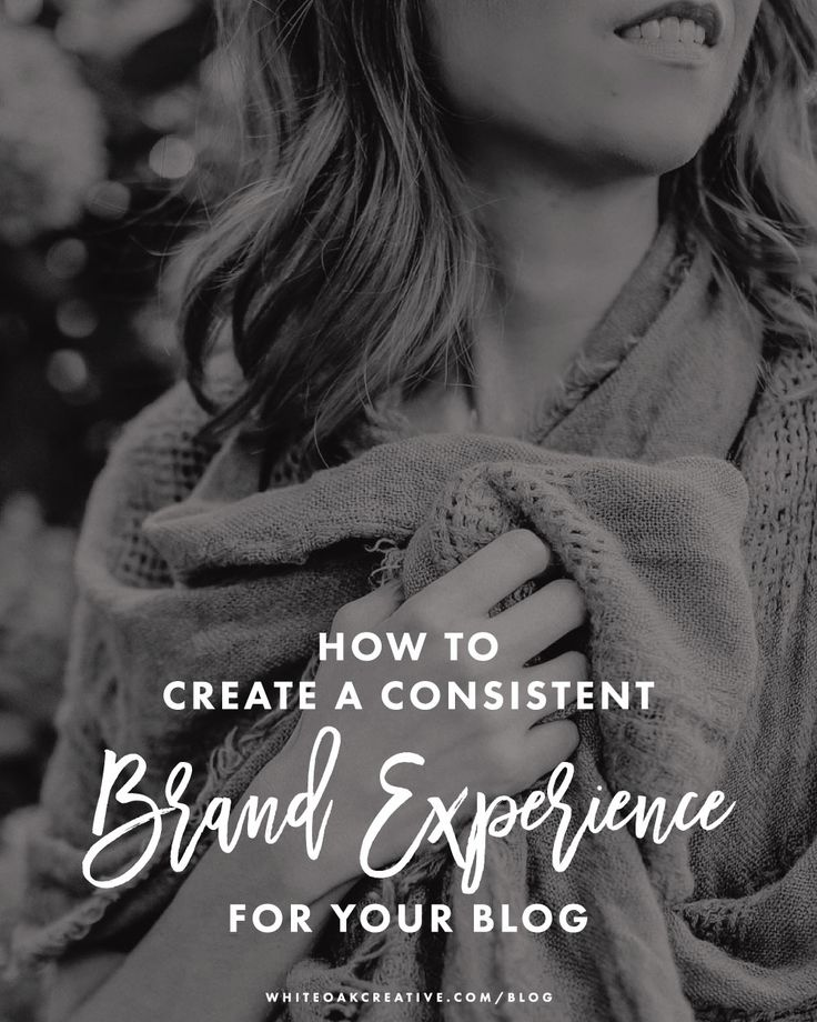 How to create a consistent brand experience for your blog by auditing your content to create a refine and targeted message.
