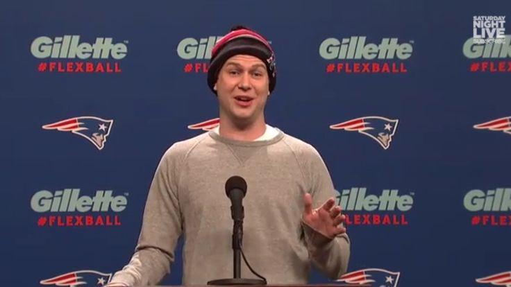 Taran Killam was born to play smug Tom Brady.