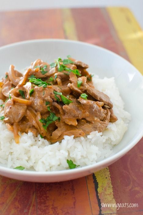 Beef Stroganoff | Slimming Eats - Slimming World Recipes