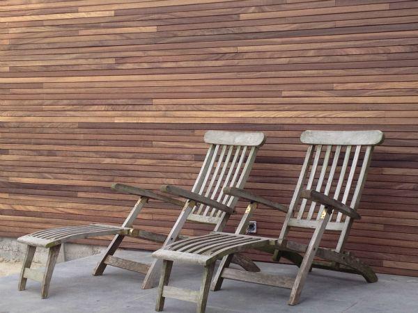 Afsluiting tuin en houten constructies