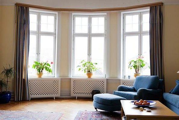 Большие окна в интерьере фото