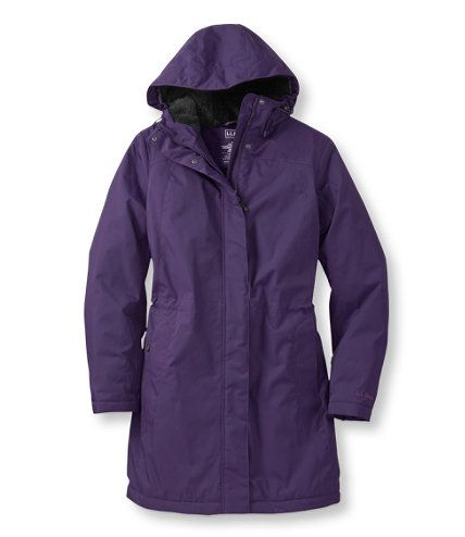 I don't think I will ever buy a non LL bean coat again.  Love the length.  Love the snaps.  Love the fabric inside and out.  Love the coat.