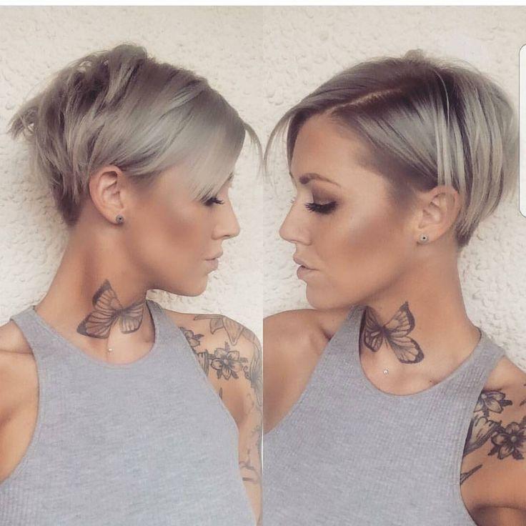 """Gefällt 10.2 Tsd. Mal, 68 Kommentare - PixieCut ShortHair Blogger (@nothingbutpixies) auf Instagram: """"Front to back pixie cut on @d_w_i_l_l_o_w Who else loves these photos??? #fronttobackfriday"""""""