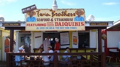 Twin Brothers Restaurant, Nassau, Bahamas