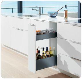 Blum Products - Box systems - LEGRABOX application 4 Kitchens