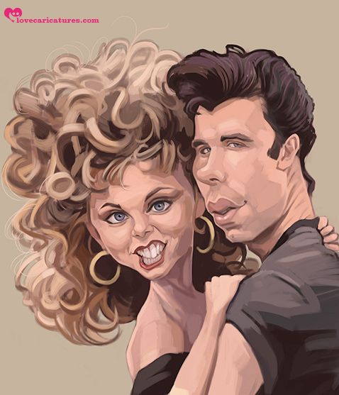 grease // carcoma caricatura