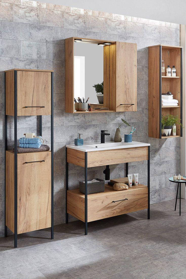 Germania Badezimmer Gw Gintano Unterschrank Waschbecken Spiegelschrank Led Badezimmer Gunstig