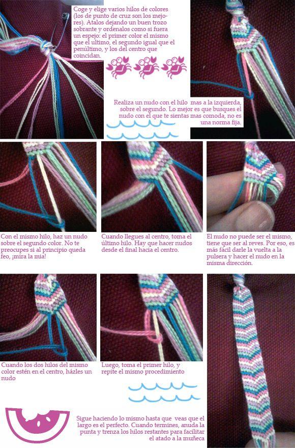 milowcostblog♥: DIY: pulseras de hilo