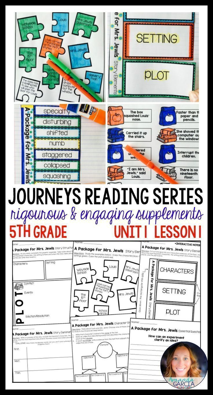Go back to school with your Journeys reading series lessons prepped and ready to go! Students love these interactive notebook supplements and other fun pages! And you'll love that your reading lessons for the week are ready to go! Aligned to the curriculum and the common core for 5th grade.