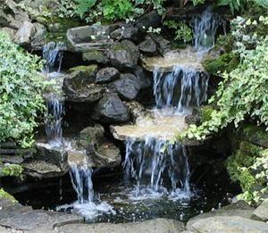 Bäck/vattenfall
