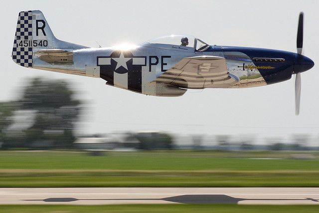 P-51 Mustang, Cadillac of the sky