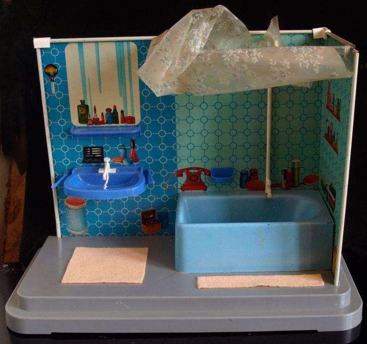 376 best Miniature Bath & Laundry images on Pinterest | Doll houses ...