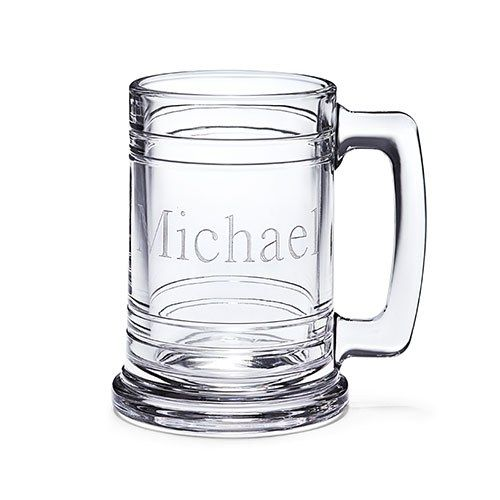 Personalized Maritime Glass Beer Mug - CASELYS BRIDAL BOUTIQUE ONLINE STORE