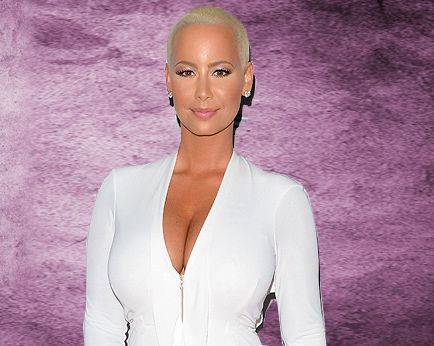 Amber Rose is contemplating breast reduction surge…