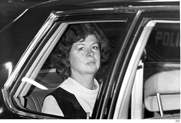 Sara Jane Moore (February 15, 1930) attempted to assassinate U.S. President Gerald Ford on September 22, 1975, outside the St. Francis Hotel in San Francisco, 17 days after Squeaky Fromme had pointed a gun at the president. She was paroled on December 31, 2007, having served 32 years.