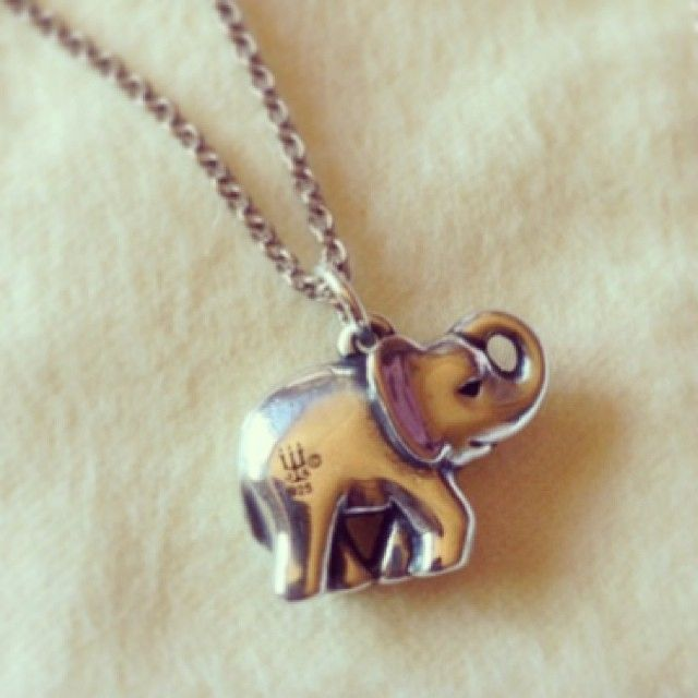 Elephant Charm #jamesavery | instagram viewer