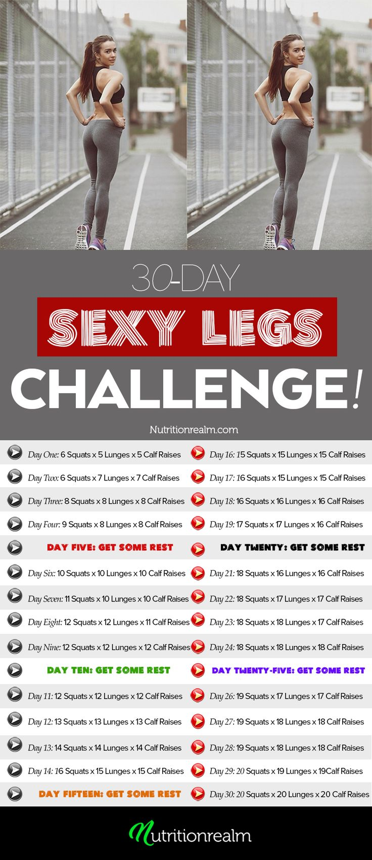 Exercises for sexy legs
