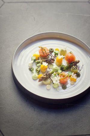 RESTAURANT JAN | Salmon Gravlax | Nice, France #onemichelinstar