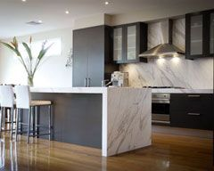 Kitchen Benchtop - Calcutta Granite