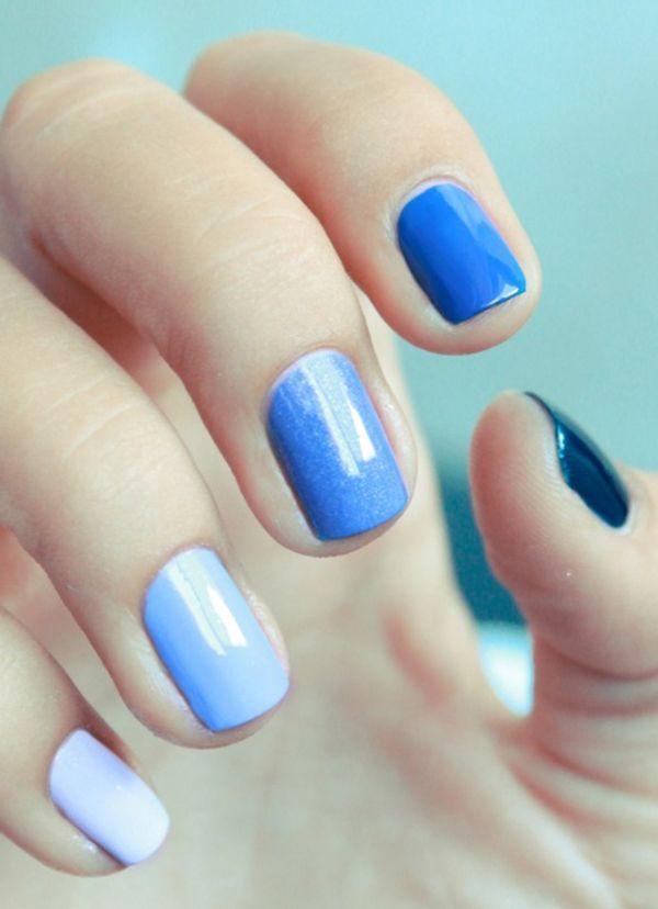manicura-azul-degradado                                                                                                                                                                                 Más                                                                                                                                                                                 Más