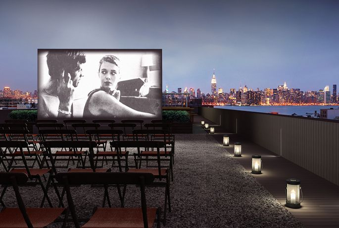 Brooklyn rooftop cinema