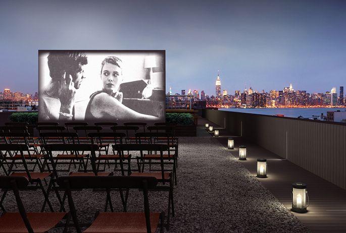 Brooklyn rooftop cinema