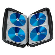 #Banggood Хранение кейс держатель организатор бумажник держит 128pcs для CD и DVD дисков Blu-Ray (1118621) #SuperDeals