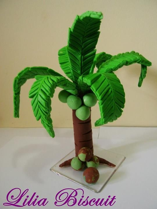 1000 Ideas About Palm Tree Cakes On Pinterest Tree