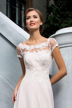 Svadobné šaty pre objemné paže