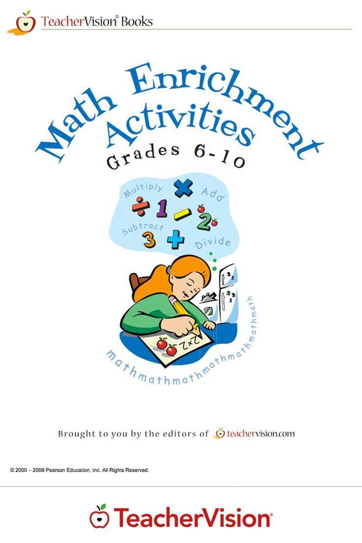 Math Enrichment Activities Printable Book 6 10 Math Enrichment Activities Enrichment Activities Math Enrichment [ 1104 x 736 Pixel ]