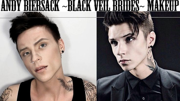 Andy Biersack Black Veil Brides Makeup Transformation Tutorial + Funny M...