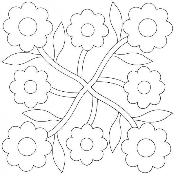 Coloring Pages For Quilt Blocks : Best 25 applique quilt patterns ideas on pinterest